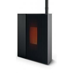 Poêle à granulés Reflex MCZ - Nouveauté 2019 - couleur noir