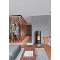 Poêle à granulés Wall MCZ - Nouveauté 2019 - designer Patricia Urquiola