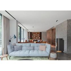 Poêle à granulés rond Wall MCZ - Nouveauté 2019 - designer Patricia Urquiola-