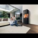 Ambiances Flammes poêle à bois 3 faces modèle Salzburg easy de la marque Haas & sohn