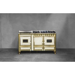 Cuisinière modèle Borgo Antico 160 lge de la marque J.CORRADI