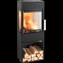 Ambiances Flammes poêle à bois modèle Wien easy de la marque Haas & sohn