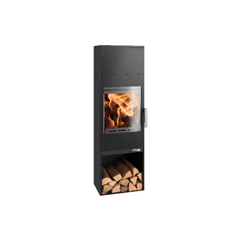 Ambiances Flammes poêle à bois modèle Inzell easy de la marque Haas & sohn