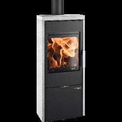 Ambiances Flammes poêle à bois modèle DK Lausitz  easy de la marque Haas & sohn