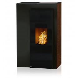 Ambiances Flammes miro acier noir effet  rouillé RIKA granulés