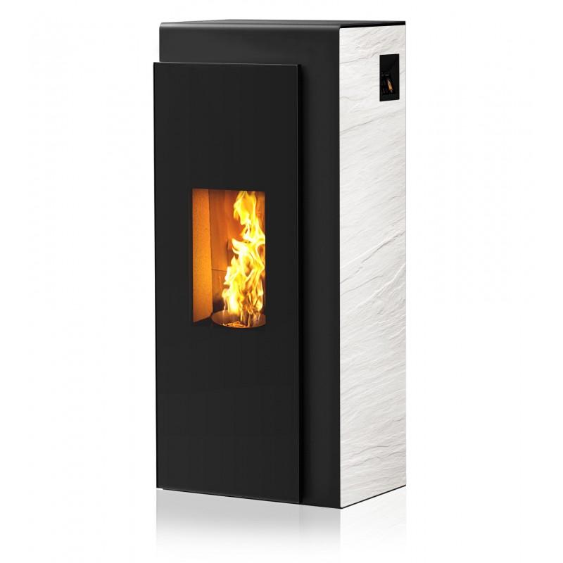 Ambiances Flammes vous présente le modèle Kapo un poêle à granulés RIKA