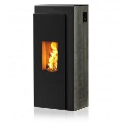 Ambiances Flammes kapo acier noir effet  rouillé métallisé RIKA granulés.