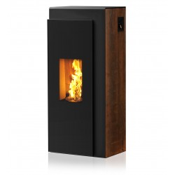 Ambiances Flammes kapo acier noir effet  rouillé RIKA granulés