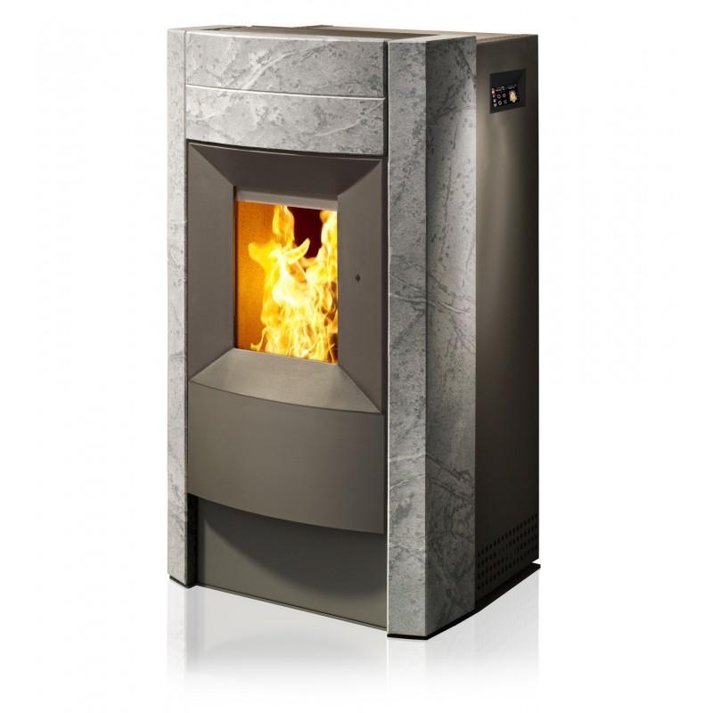 revo rika | poêle à granulés | ambiances flammes - ambiances flammes