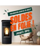 Soldes Magasin de poêles et inserts sur Angers, Nantes et Guérande